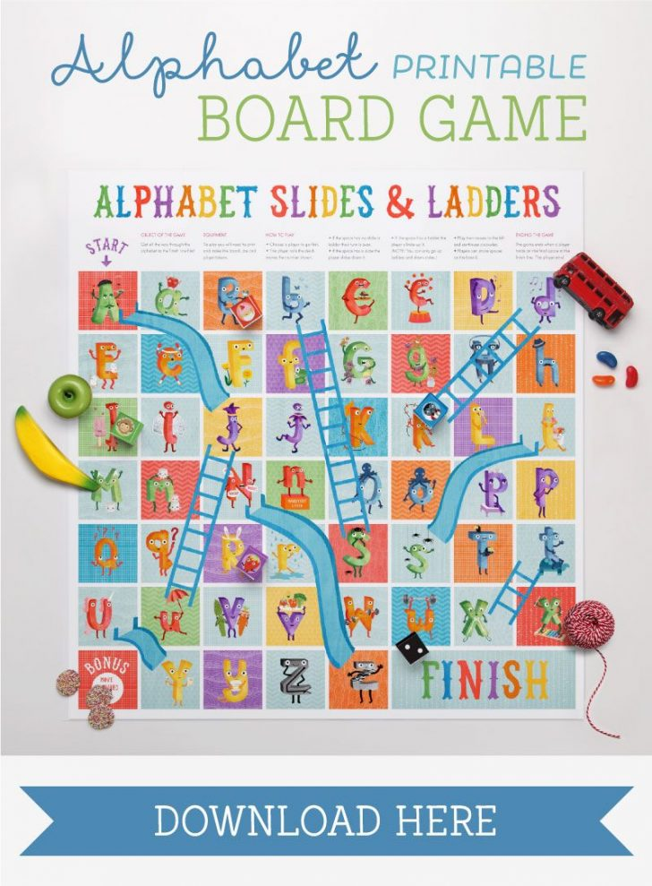 Free Printable Alphabet Board Games