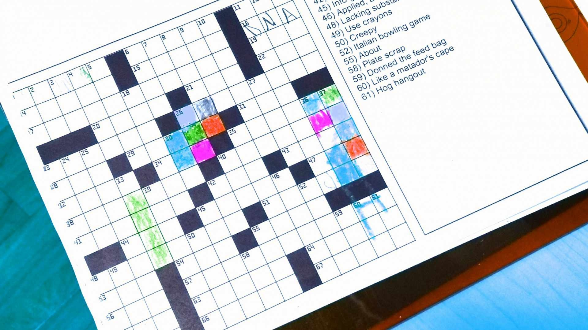 The Best Free Crossword Puzzles To Play Online Or Print - Printable Newspaper Crossword Puzzles For Free