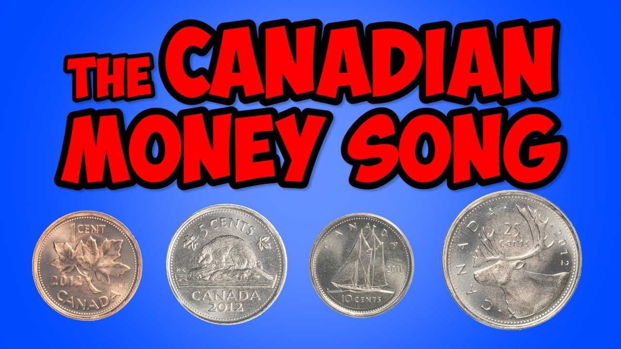 The Canadian Money Song | Penny, Nickel, Dime, Quarter | Math Song For Kids  | Jack Hartmann - Free Printable Canadian Play Money For Kids