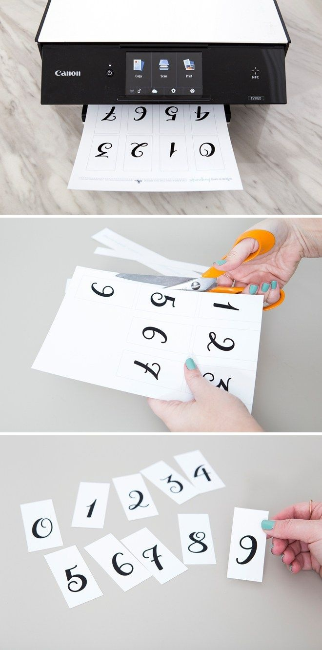 This Diy Wedding Countdown Sign Is The Absolute Cutest! | Diy - Free Printable Wedding Countdown