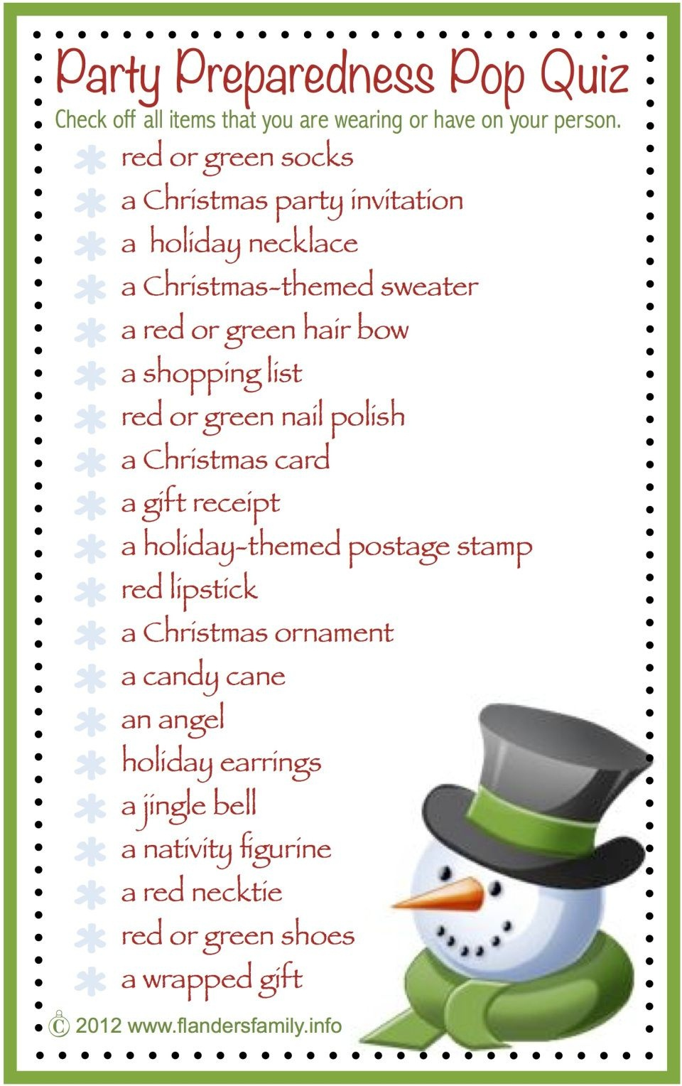 This Site Has Lots Of Free Printable Party Games And Activities For - Free Printable Christmas Games For Family Gatherings
