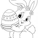 Top 15 Free Printable Easter Bunny Coloring Pages Online | Spring   Free Printable Easter Colouring Sheets