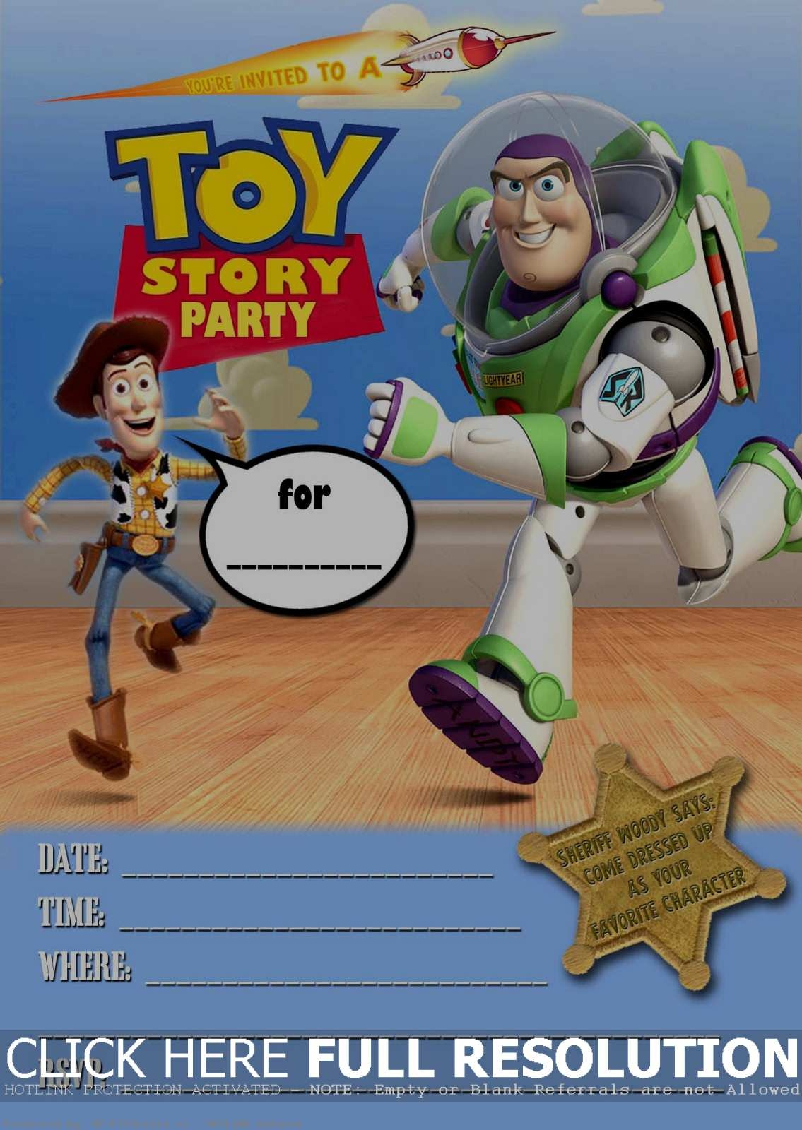 Toy Story Card Template - Kaza.psstech.co - Toy Story Birthday Card Printable Free