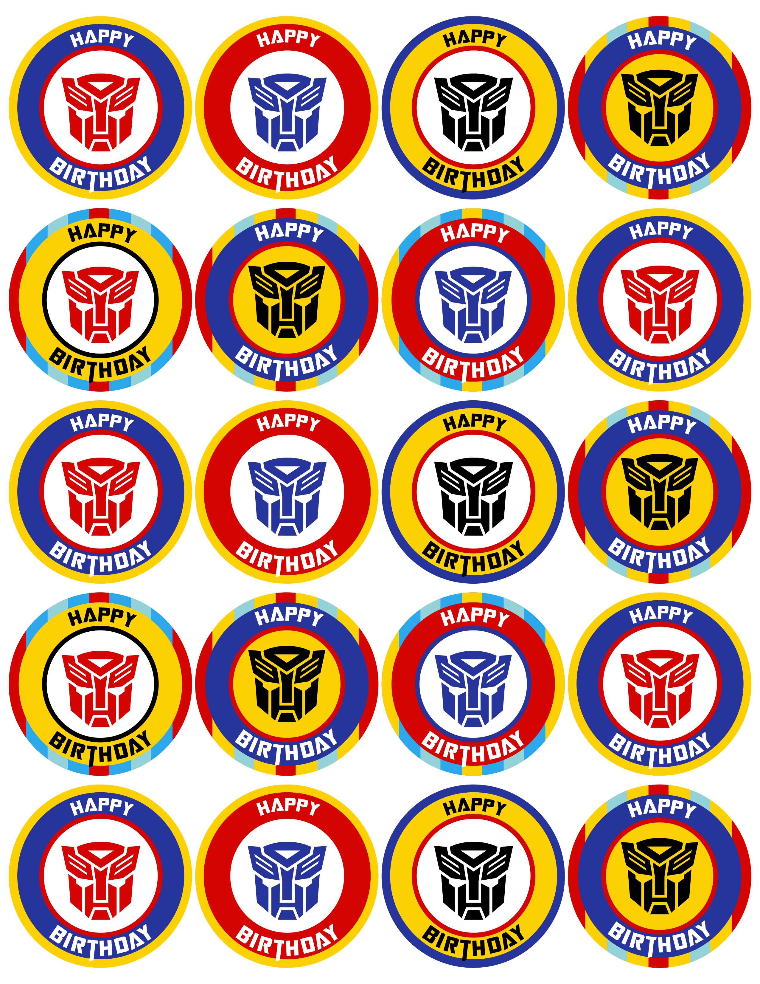Transformers Birthday Party Decorations On A Budget Plus Free - Transformers Party Invitations Free Printable