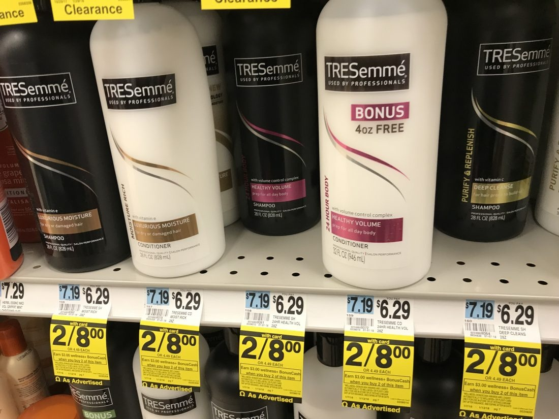 Tresemme Shampoo Or Conditioner Only $1.00 At Rite Aid (After - Free Printable Tresemme Coupons