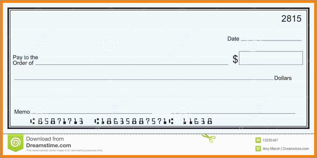 Unique Free Editable Cheque Template | Best Of Template - Free Printable Play Checks