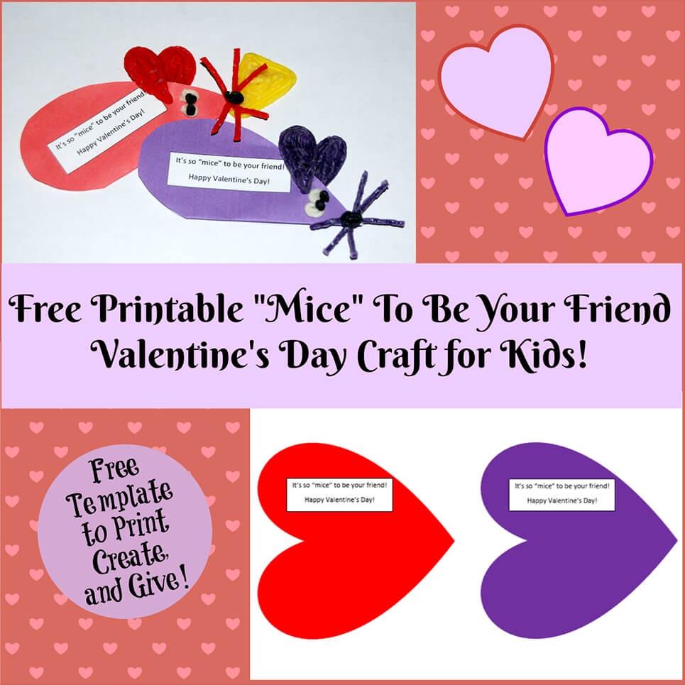 Valentine's Day Crafts For Kids   Wikki Stix - Free Printable Valentine Cards For Preschoolers
