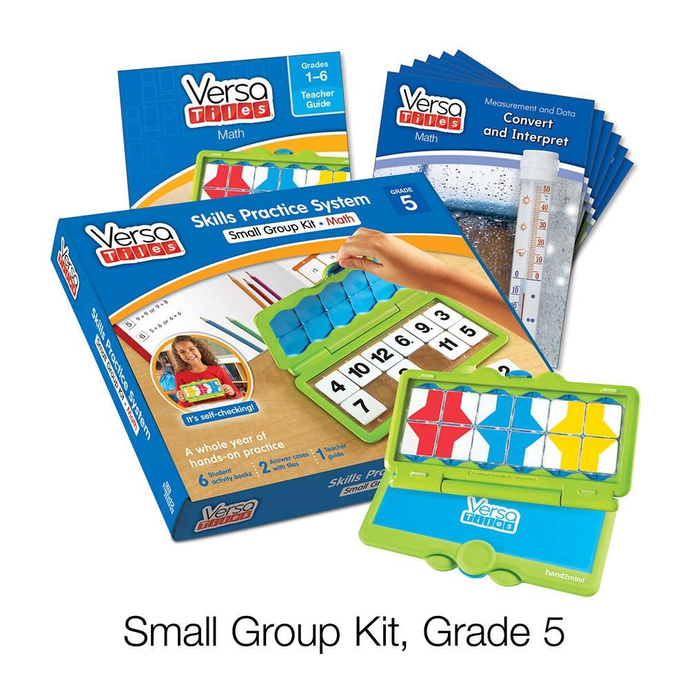 Versatiles® Math Small Group Kit, Grade 5 | Hand2Mind - Free Printable Versatiles Worksheets