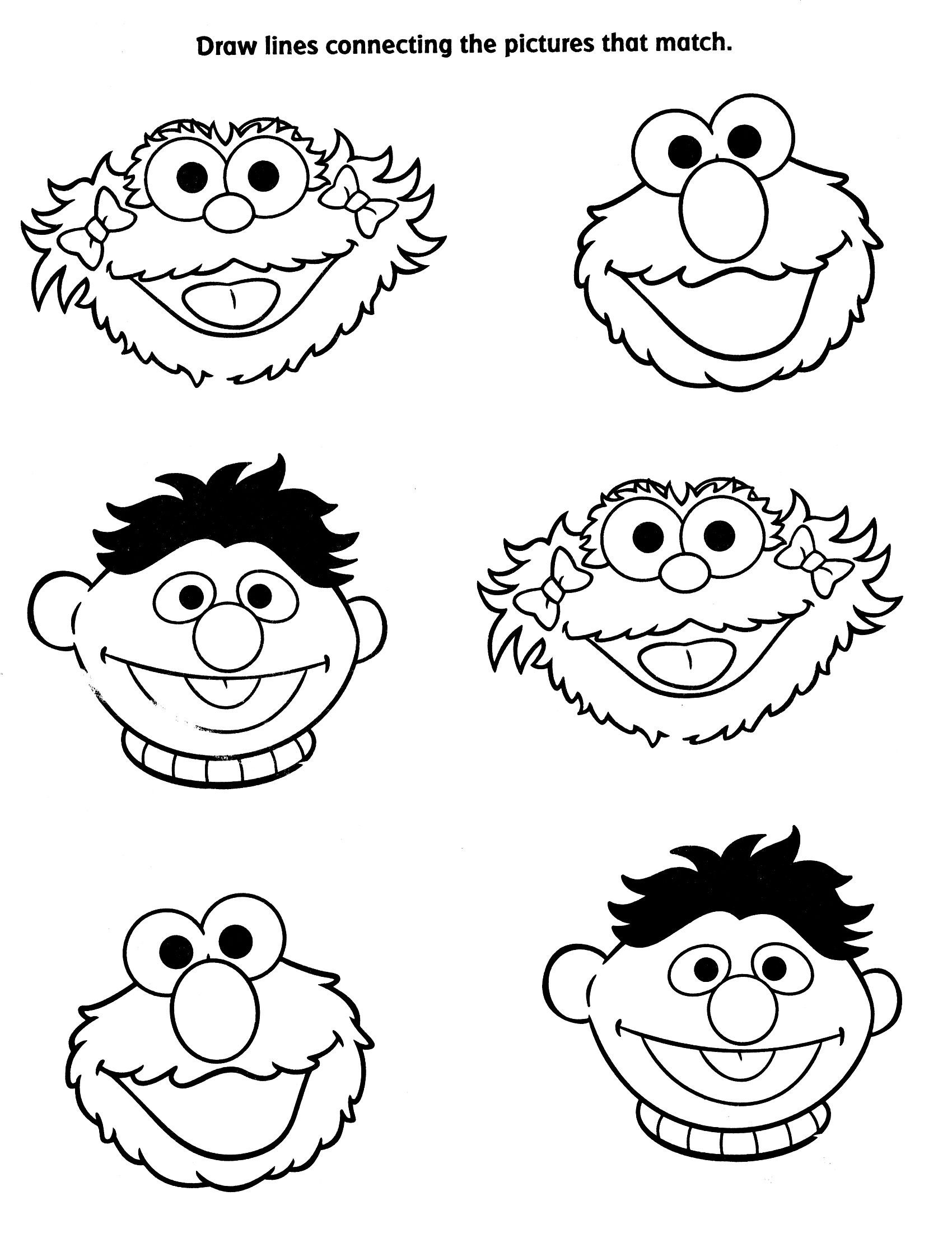 Viewing Gallery For - Sesame Street Characters Coloring Pages - Free Printable Coloring Pages Sesame Street Characters