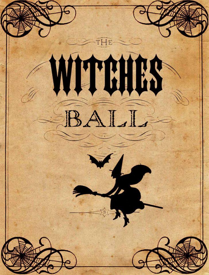 Free Printable Vintage Halloween Images