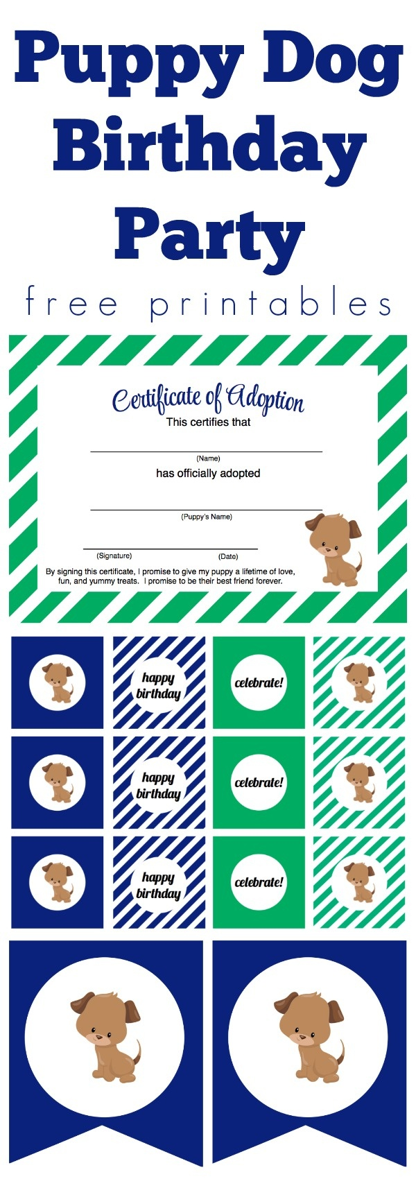 We Heart Parties: Free Printables Puppy Dog Party Free Printables - Dog Birthday Invitations Free Printable