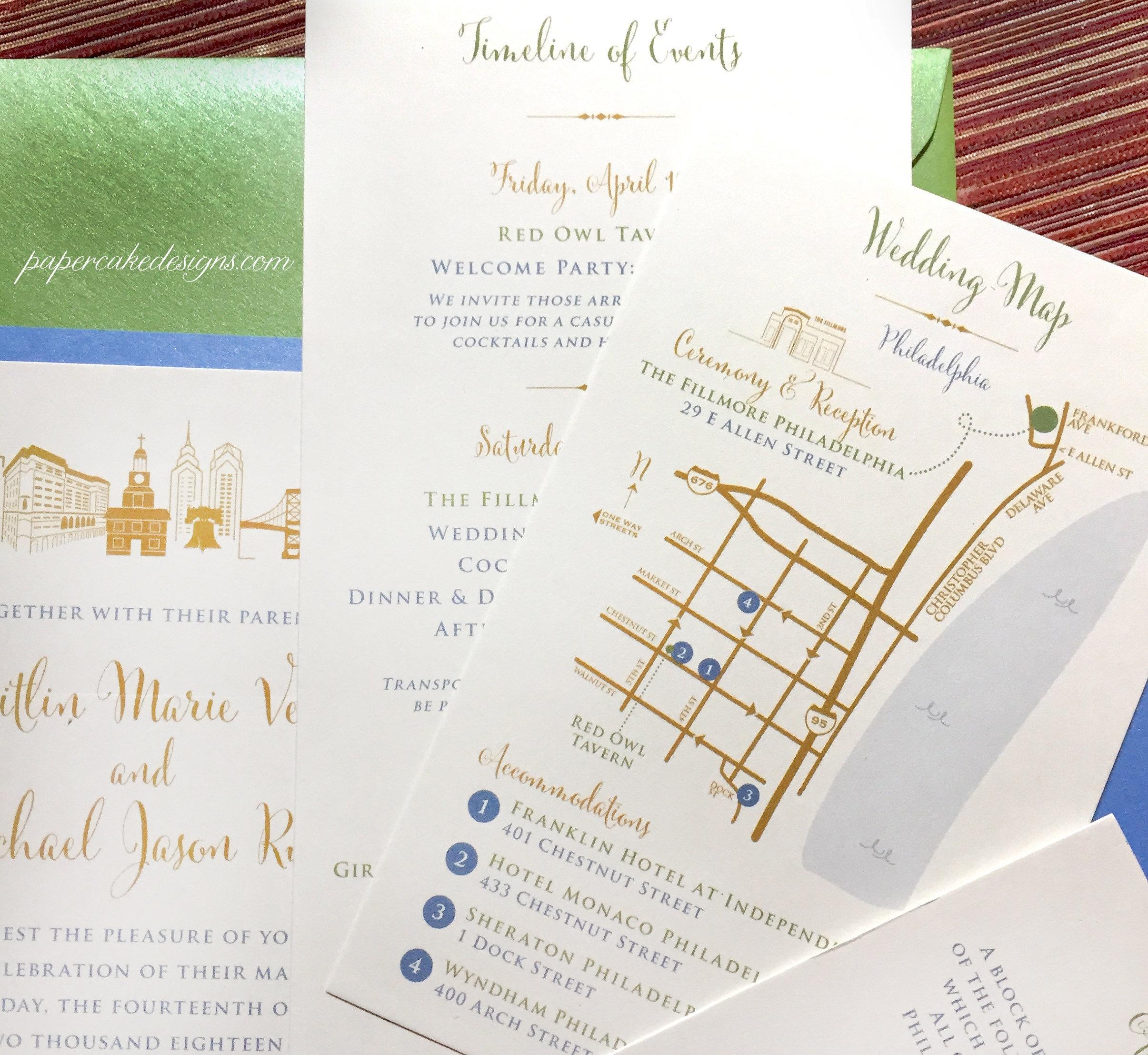 Wedding Map Custom Design / Printable Diy Digital Pdf / | Etsy - Free Printable Wedding Maps
