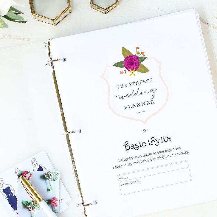 Free Printable Wedding Binder Templates