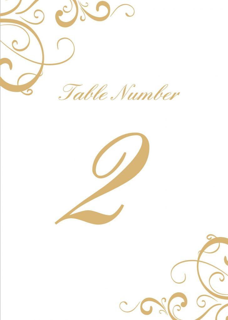 Free Printable Table Numbers 1 20