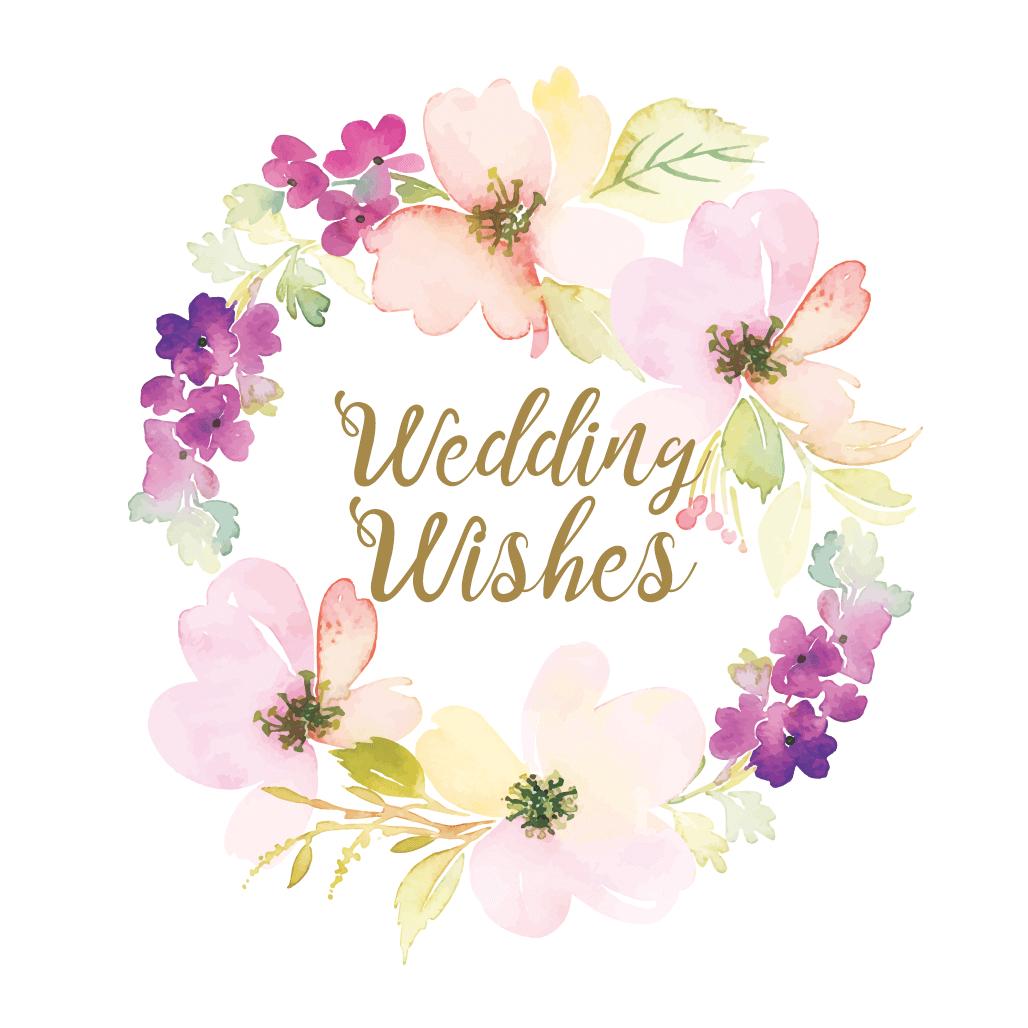 Wedding Wishes - Free Wedding Congratulations Card | Greetings Island - Wedding Wish Cards Printable Free