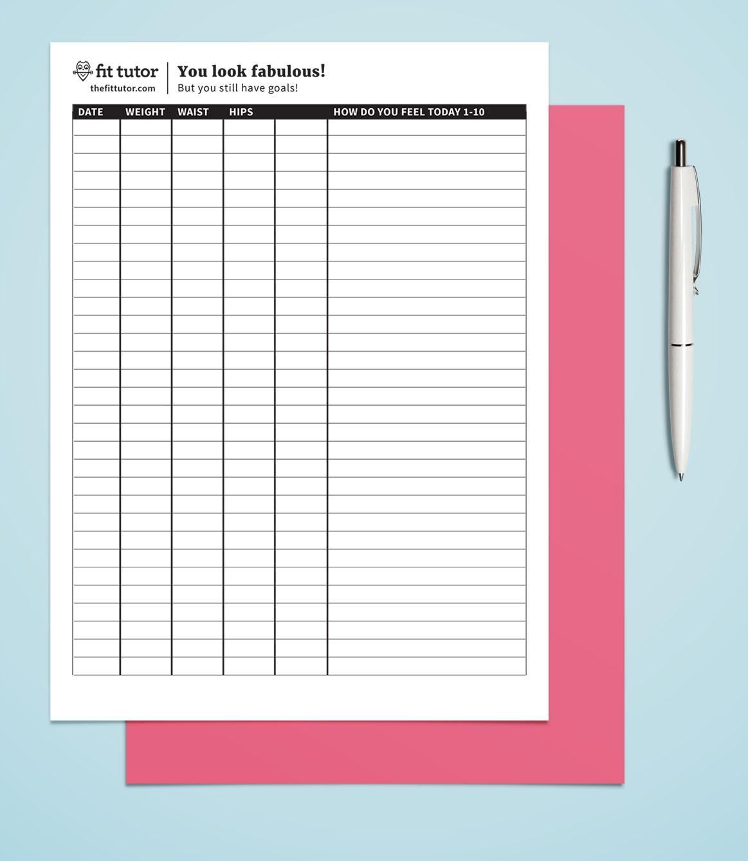 Weight Loss Tracker Chart - Tutlin.psstech.co - Free Printable Weight Loss Graph Chart