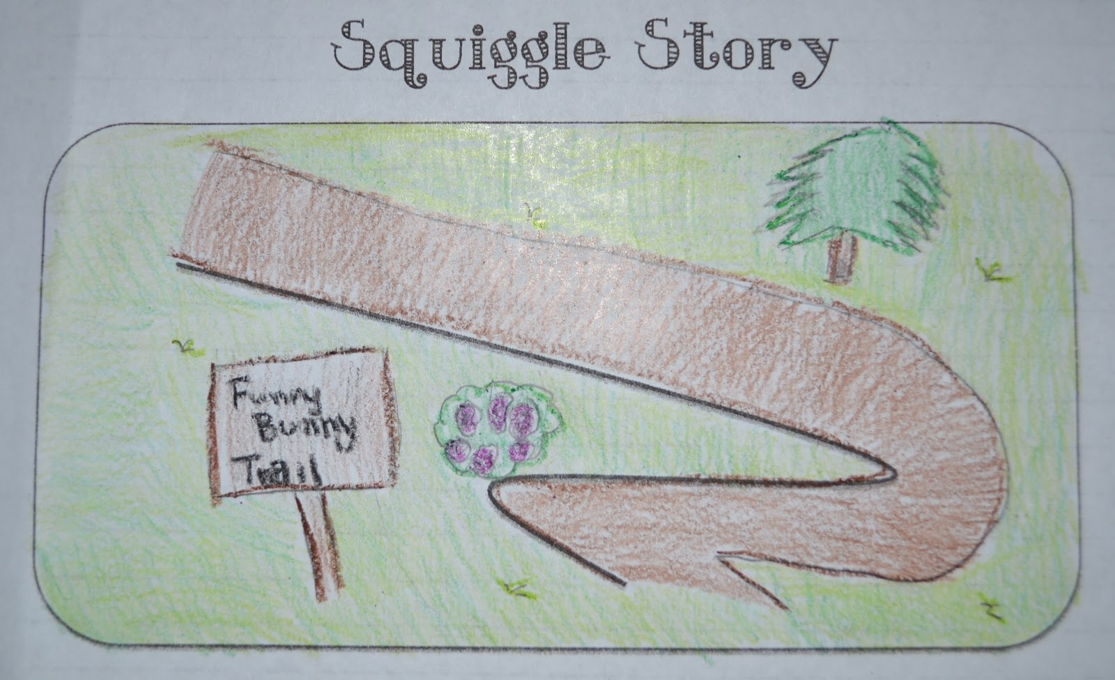 What The Teacher Wants!: Squiggle Stories! - Free Squiggle Story Printable