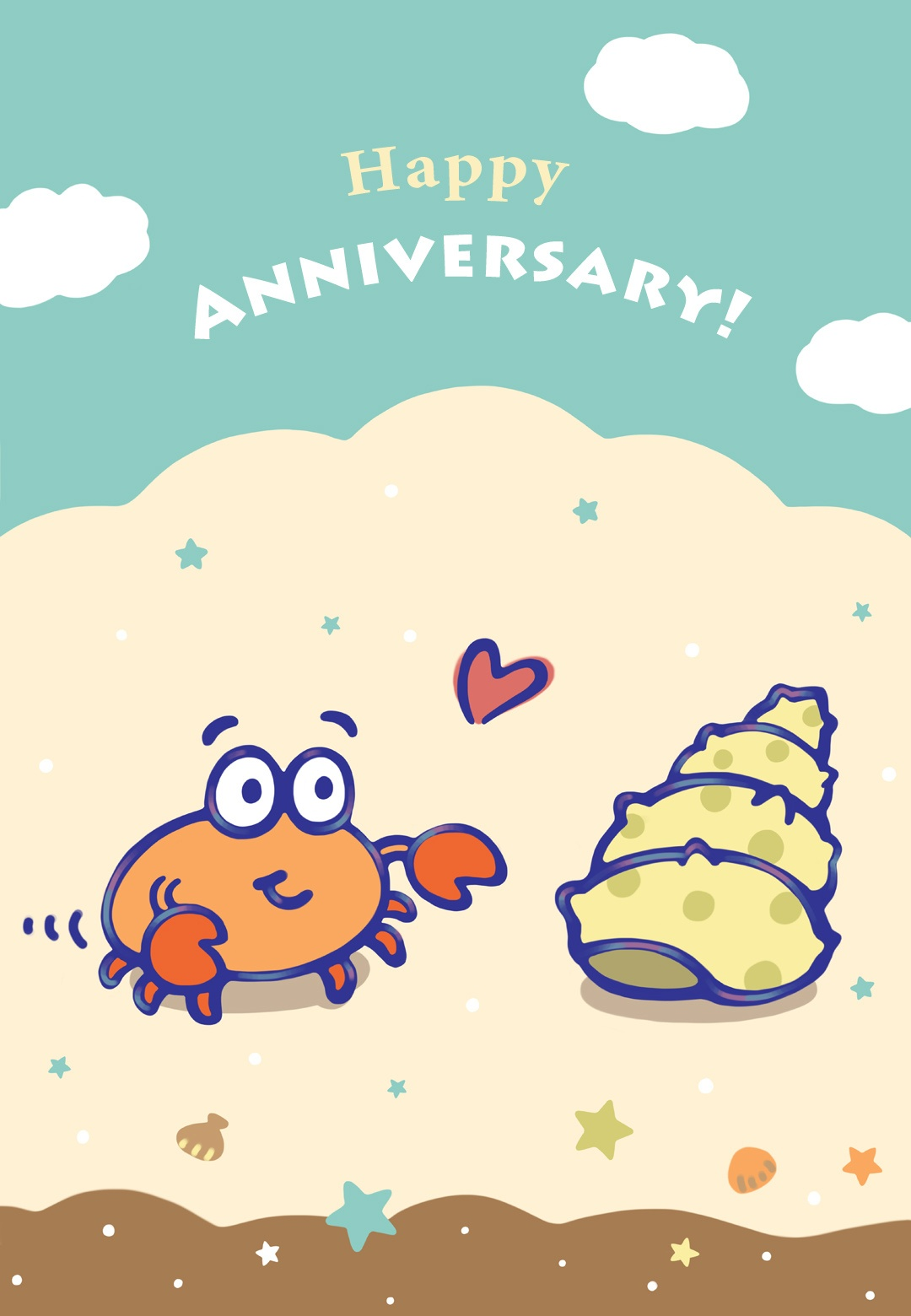 When I Found You - Happy Anniversary Card (Free)   Greetings Island - Printable Cards Free Anniversary