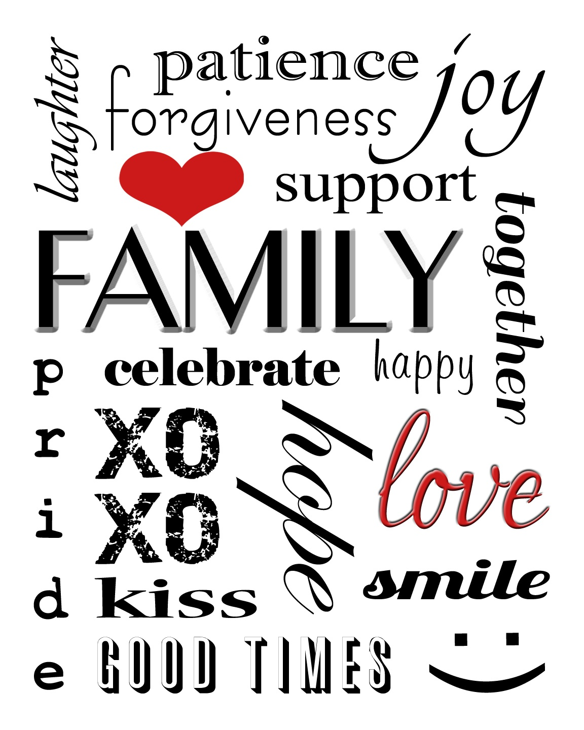 Winnerdogfinds: Free Printable Family Subway Art - Free Printable Subway Art Template