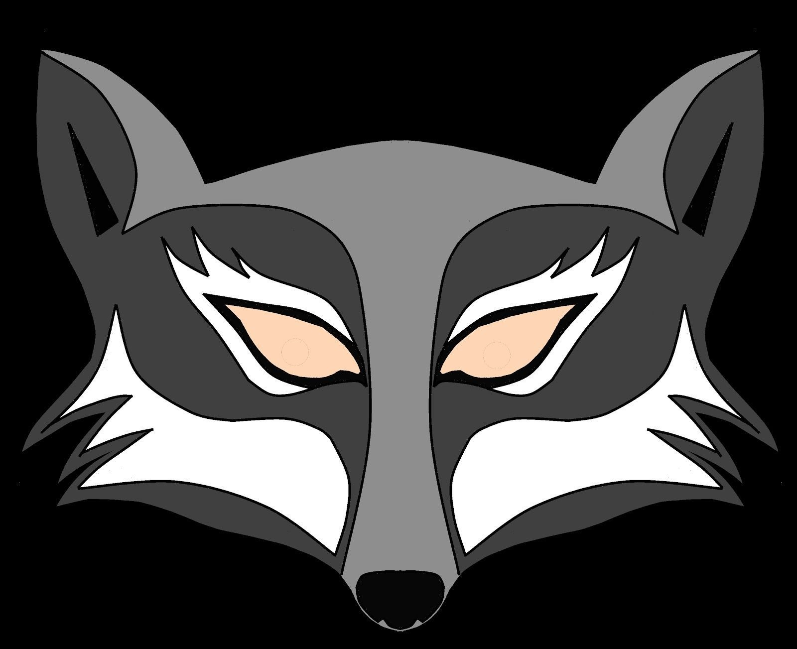 Wolf Mask Template Printable. Wolf Pattern Printable Wolf Mask - Free Printable Wolf Face Mask