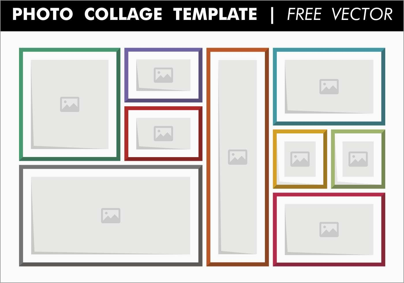 Word Art Collage Template Free Awesome Collage Template | Best Of - Free Printable Photo Collage Template