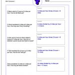 Word Problems - Free Printable Math Worksheets Word Problems First Grade