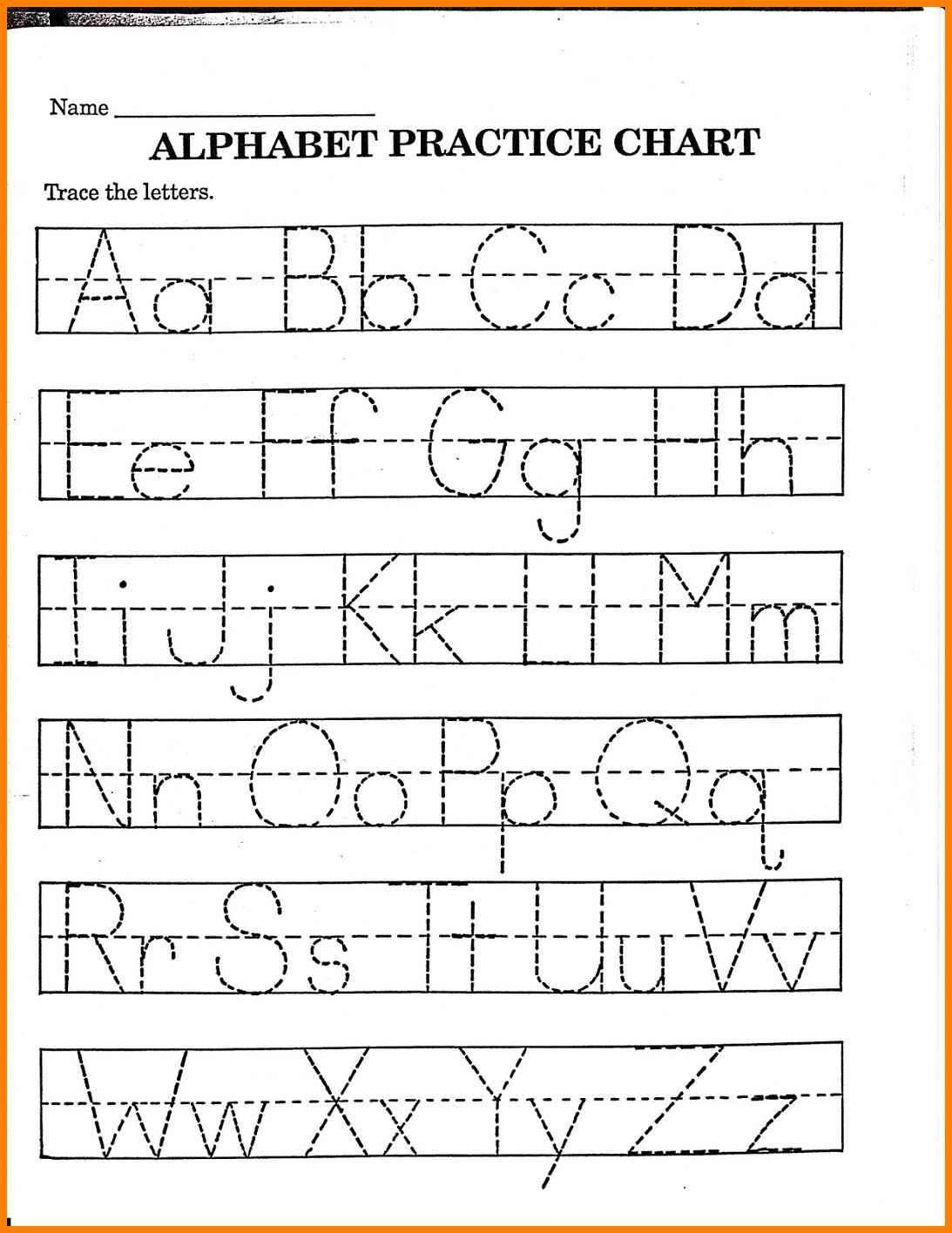 Worksheet : Kinder Worksheets Kindergarten Alphabet Practice Letter - Free Printable Name Tracing Worksheets