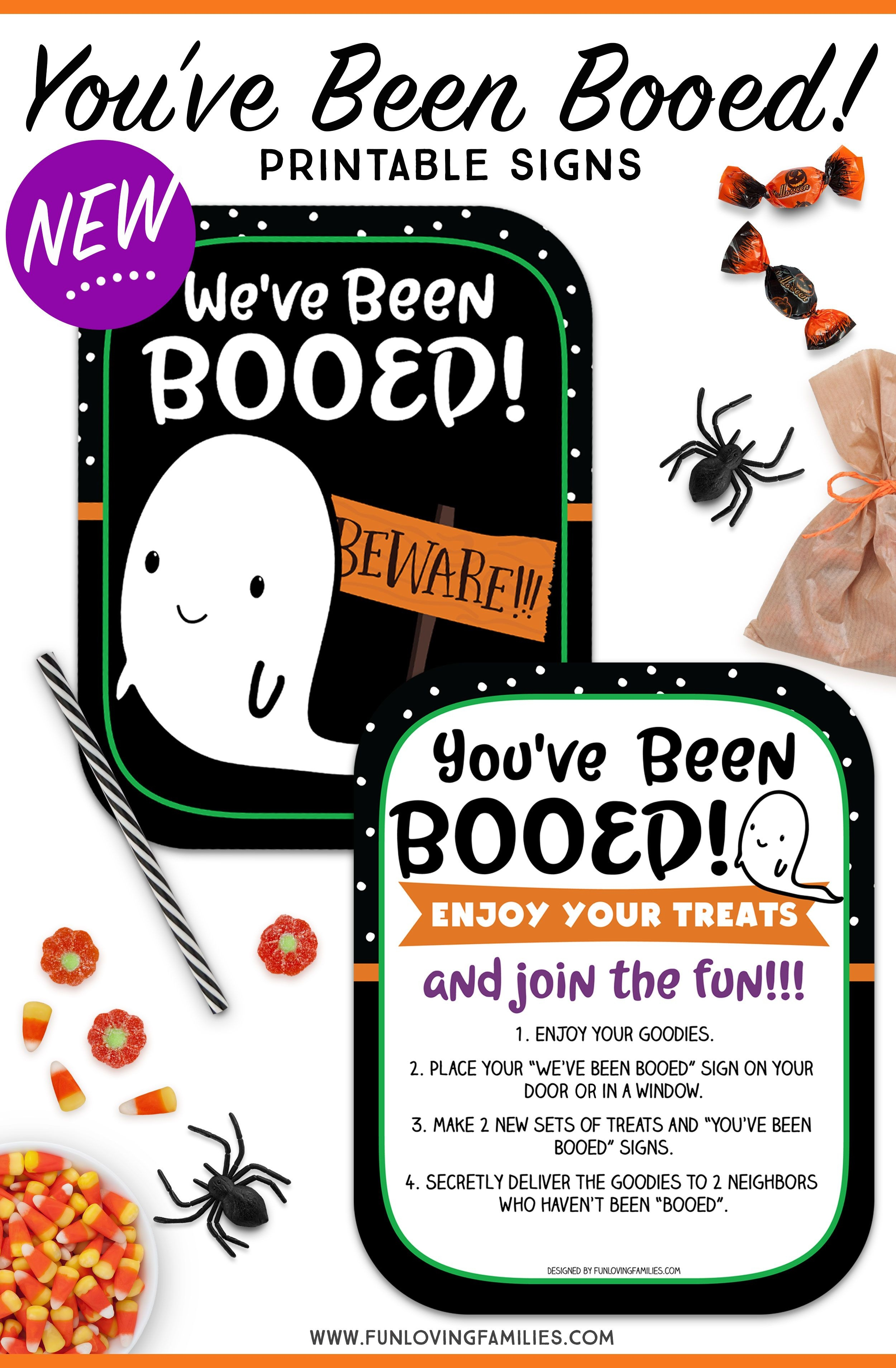 You've Been Booed Printable Signs - Super Cute And Totally Free - You Ve Been Booed Free Printable